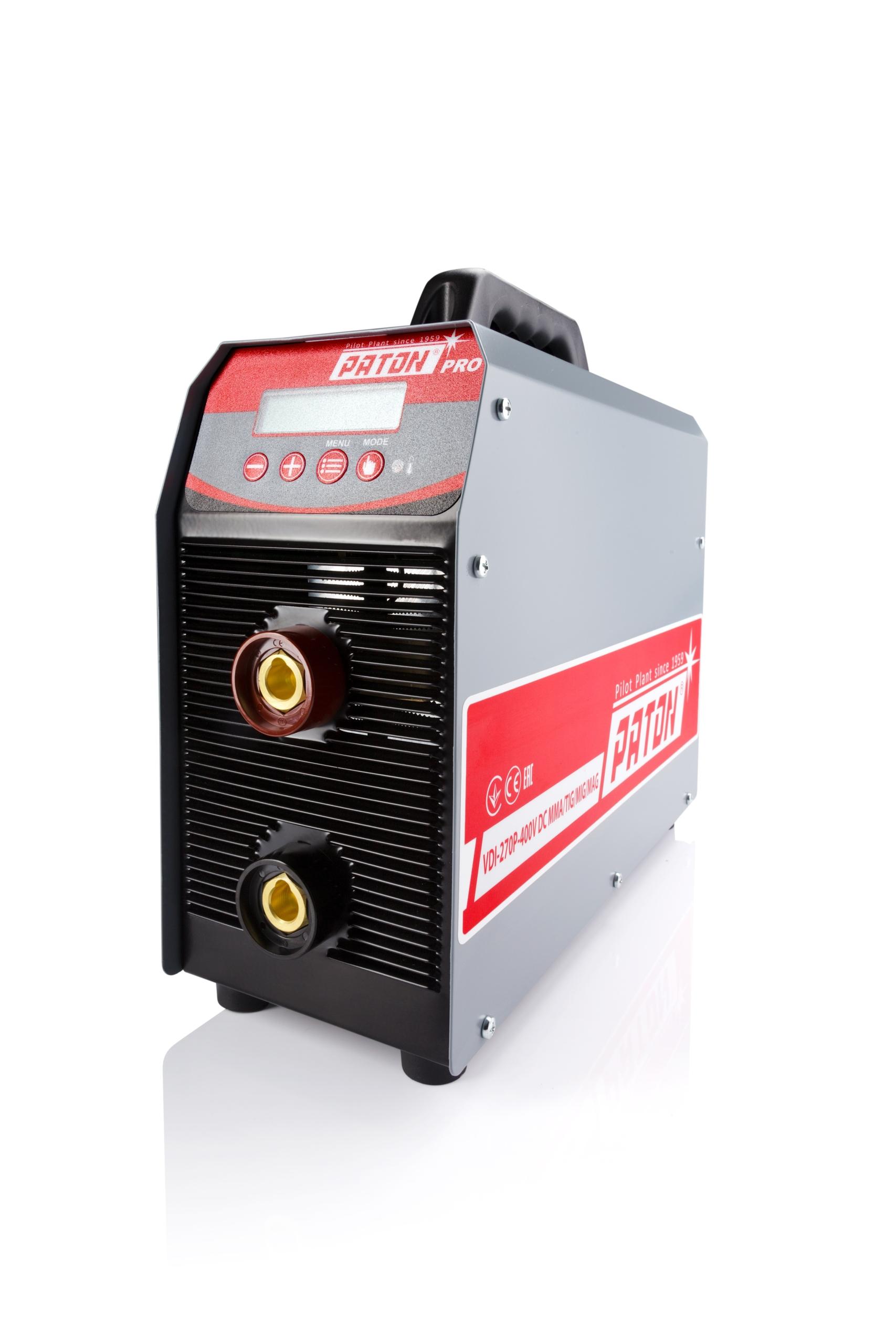 Welder Inverter DC PULSE PATON VDI 270 PRO 400 V