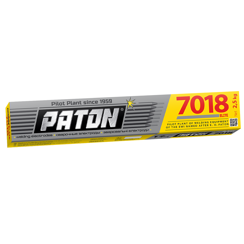 Welding electrodes Paton UONI ELITE 7018